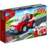 Купить Конструктор Banbao Пожарный внедорожник 110 деталей 23х15х5см (7117)
