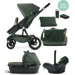 Коляска 3 в 1 Concord Wanderer Travel Set (3 в 1) Jungle Green 2016