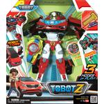 Купить Трансформер Tobot Z с наклейками карточками браслетом и ключом-токеном (301005)