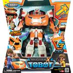 Купить Трансформер Tobot Tobot Evolution X с наклейками и ключом-токеном (301008)