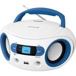 BBK BS15BT аудиомагнитола bbk bs15bt белый и голубой