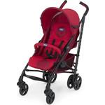 Купить Коляска-трость Chicco Lite Way Top Stroller цвет Red с бампером