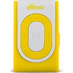 MP3 плеер Ritmix RF-2400 4Gb white/yellow