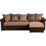 Купить Диван-кровать угловой СМК Меценат 217 2д-1пф 169 коричневый