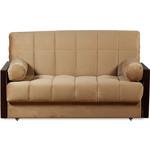 Купить Диван-кровать СМК Орион 084 3а 140 С68/Б86/П00 179 коричневый