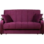 Купить Диван-кровать СМК Неаполь 086 3а 140 С68/Б88/П00 244 фиолетовый
