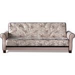 Купить Диван-кровать СМК Джесика 119 3к 279 бежевый/коричневый
