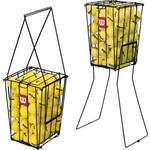 Купить Корзина для теннисных мячей Wilson Ball Pick-Up ( на 75 мяча, разборная конструкция, металл)