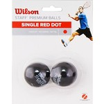Мяч для сквоша Wilson Staff Red WRT617700