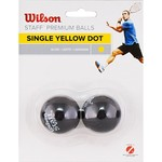 Мяч для сквоша Wilson Staff Yellow WRT617800