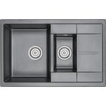 Купить Мойка кухонная Granula 77,5x49,5 см черный (GR-780 2черный)