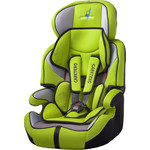 Автокресло Caretero Falcon (9-36 кг) GREEN (зеленый)