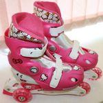 Купить Раздвижные трехколесные роликовые коньки Hello Kitty 2541
