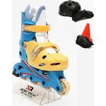 Купить Роликовые коньки Joerex RO0306 набор (синий/желтый)