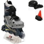 Купить Роликовые коньки Joerex RO0306 набор (синий/серый)