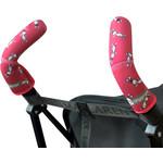 Choopie CityGrips (Сити Грипс) на ручки для коляски-трости 375/4141 pink bunny