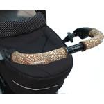 Choopie CityGrips (Сити Грипс) на ручку для универсальной коляски длинные 511/9341 Brown Leopard