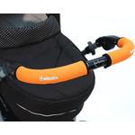 Choopie CityGrips (Сити Грипс) на ручку для универсальной коляски длинные 512/9358 Neon Orange