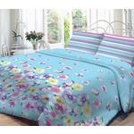 Купить Комплект постельного белья Нежность Евро, поплин Аделия с наволочками 70x70 (702068)