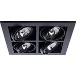 Купить Встраиваемый светильник Artelamp A5930PL-4BK