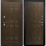 Купить Дверь SD Prof-5 Сенатор входная 2050х980 металлическая Орех/Орех (левая)