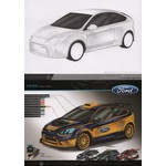 Design Masters Блокнот Ford Focus RS500 (7111)
