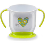 Кружка на присоске Happy Baby BABY CUP WITH SUCTION BASE (15022 LIME)