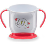 Кружка на присоске Happy Baby BABY CUP WITH SUCTION BASE (15022 RED)