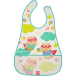 Нагрудник на липучке Happy Baby WATERPROOF BABY BIB (16005 MINT (PIGS))