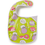 Нагрудник на липучке Happy Baby WATERPROOF BABY BIB (16009 LIME (десерт))