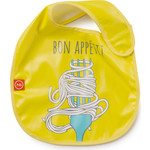 Нагрудник на липучке Happy Baby WATERPROOF BABY BIB (16009 YELLOW (вилка))