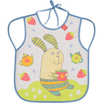 Нагрудный фартук Happy Baby BABY BIB WITH HANGERS (16011 LILAC (RABBIT))