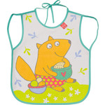 Нагрудный фартук Happy Baby BABY BIB WITH HANGERS (16011 MINT (FOX))