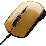 Игровая мышь SteelSeries Rival 100 Alchemy gold/black (62336)