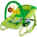 Купить Шезлонг Caretero Astral Green (зеленый) (TERO-801)