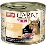 Купить Консервы Animonda CARNY Kitten коктейль из говядины и мяса домашней птицы для котят 200г (83698)