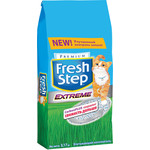 Fresh Step Extreme Carbon plus тройной контроль запаха впитывающий с ароматизатором для кошек 3,17кг