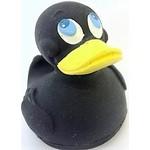 Купить Латексная игрушка LANCO Утка черная (864)