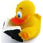 Купить Латексная игрушка LANCO Утка читающая (853)