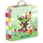 Купить Krooom Игрушки из картона: 3D набор Сказочное дерево (k-327)
