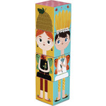 Купить Krooom Игрушки из картона: Stack&Match кубики Лесные феи (k-441)