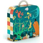 Купить Krooom Игрушки из картона: пазл Морские животные (k-601)