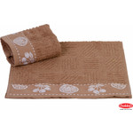 Полотенце Hobby home collection Meyve bahcesi 30x50 см коричневый (1501000791)