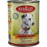 Купить Консервы Berkley For Adult Dog Lamb & Carrots с ягненком и морковью для взрослых собак 400г (75020)