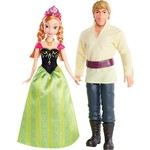Купить Mattel Disney Princess Куклы Принцессы Дисней Анна и Кристоф, из м/ф Frozen BDK35