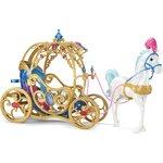 Купить Mattel Disney Princess Лошадь с каретой для Принцессы Дисней Золушки CDC44