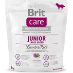 Сухой корм Brit Care Junior Large Breed Lamb & Rice гипоаллергенный с ягненком и рисом для молодых собак крупных пород 1кг (132705)