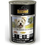 Консервы Belcando Best Quality Meat & Noodles отборное мясо с лапшой для собак 400г (512515)
