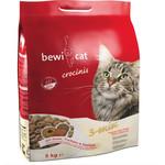 Купить Сухой корм Bewi Cat Crocinis 3 mix Chicken, Turkey & Sea Fish с курицей, индейкой и морской рыбой для взрослых привередливых кошек 5кг (751025)