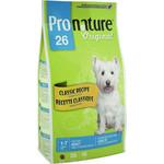 Pronature Original 26 Adult Dog Small & Medium Classic Recipe Chicken Formula с курицей для собак мелких/средних пород 20кг(102.549)(OD-4)